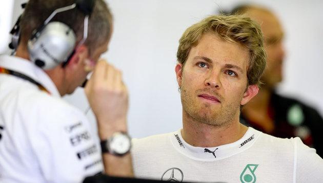 Rosberg Schnellster, doch Ferraris bereiten Sorgen (Bild: APA/EPA/SRDJAN SUKI)