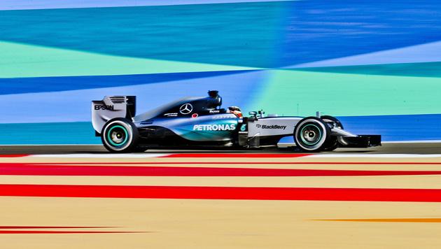 Hamiltons Spitze gegen Ferrari und die Ex-Freundin (Bild: APA/EPA/SRDJAN SUKI)