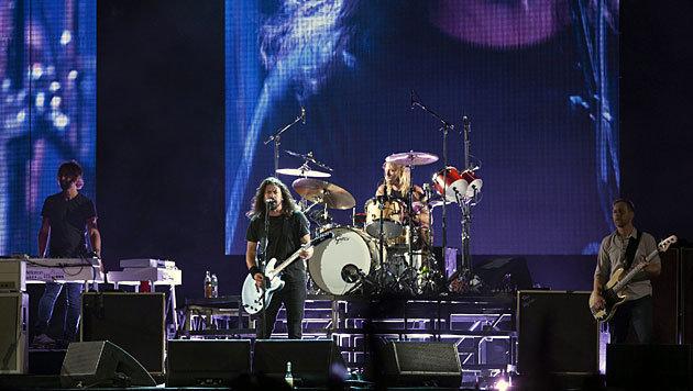 Die Foo Fighters kommen am 11. November nach Wien (Bild: APA/EPA/Sebastiao Moreira)