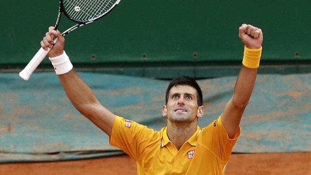 Djokovic schlug wieder zu! Triumph in Monte Carlo (Bild: AP)