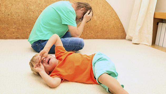 Wie Sie die Trotzphase Ihres Kindes überstehen (Bild: thinkstockphotos.de)
