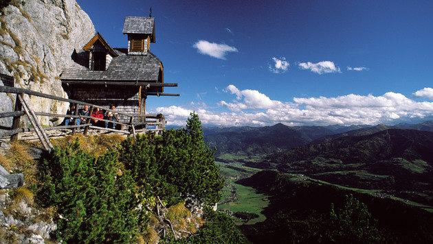Im Bereich des Friedenskircherls stürzte der Steirer in die Tiefe. (Bild: Steiermark Tourismus)
