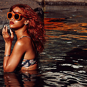Ihre Urlaubsbilder teilt Rihanna mit ihren Fans. (Bild: Viennareport)
