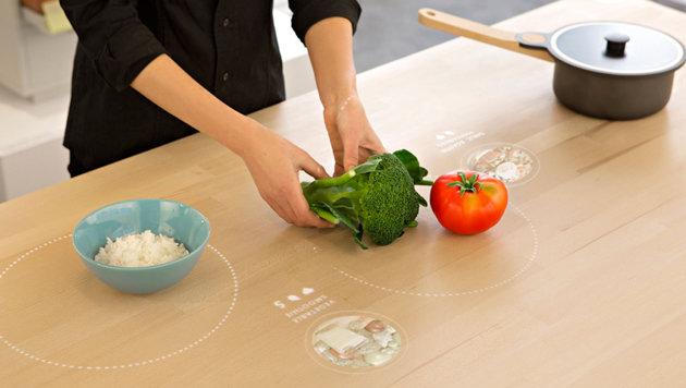 Alles Hightech: Ikea zeigt Küche des Jahres 2025 (Bild: conceptkitchen2025.com)