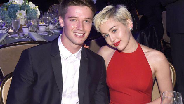 Patrick Schwarzenegger und Miley Cyrus (Bild: AFP)