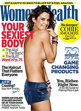 'HIMYM'-Star Cobie Smulders zeigte ihren After-Baby-Body kürzlich auf der 'Women's Health'. (Bild: Women's Health)