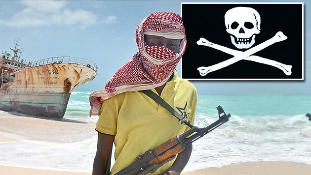 Entführungen durch Piraten auf Rekordstand (Bild: AP)