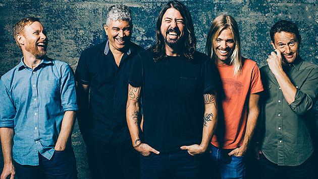 Foo Fighters: Ansturm auf die Konzerttickets (Bild: Sony Music)