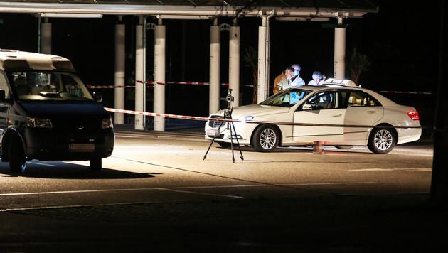 Mord an Linzer Taxlerin: Täter in Hotel gefasst (Bild: APA/Matthias Lauber)