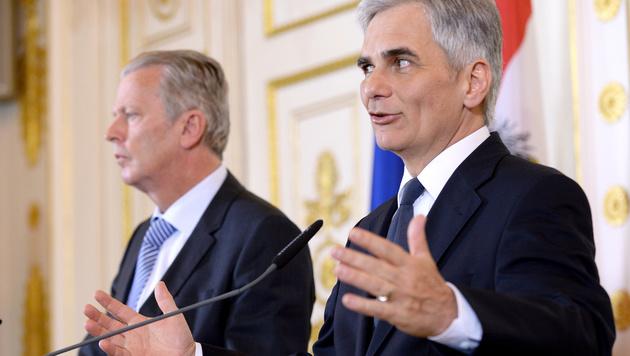Neuer Finanzrahmen passierte den Ministerrat (Bild: APA/ROLAND SCHLAGER)