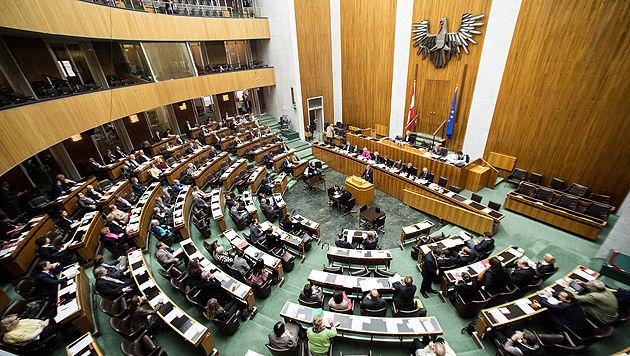 Umstrittene Asylnovelle im Nationalrat beschlossen (Bild: APA/GEORG HOCHMUTH)