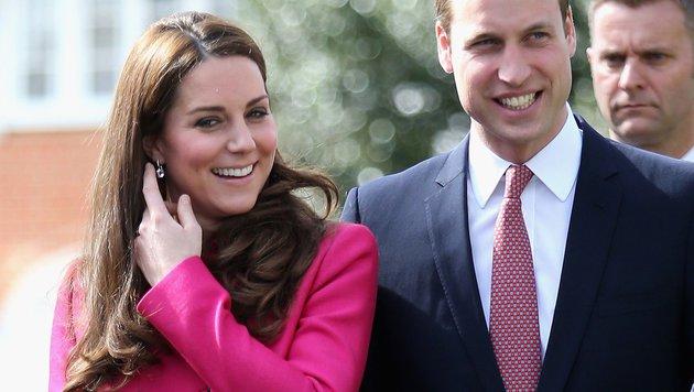 William und Kate (Bild: AFP)