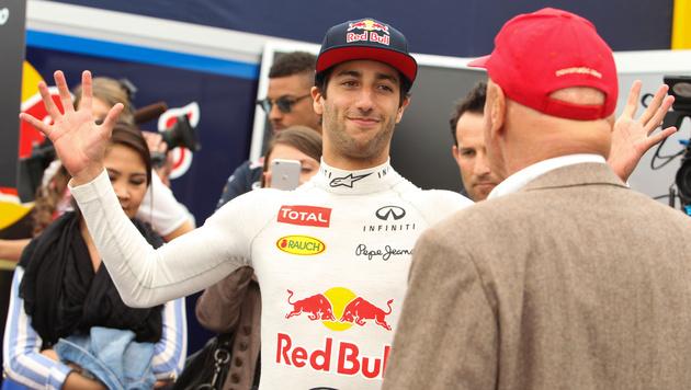 Formel 1: Hier rast Ricciardo über Rathausplatz (Bild: GEPA)