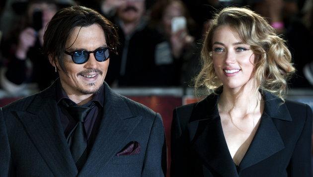 Johnny Depp und Amber Heard (Bild: EPA)