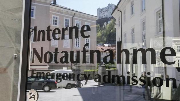 Gut bewährt hat sich die Interne Notaufnahme im Spital der Barmherzigen Brüder im Kaiviertel. (Bild: Markus Tschepp)