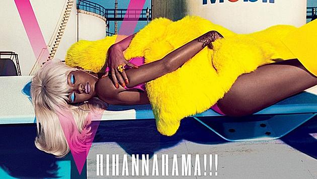 Rihannahama!!! (Bild: instagram.com/vmagazine)