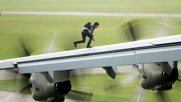 Tom Cruise in Action (Bild: Viennareport)