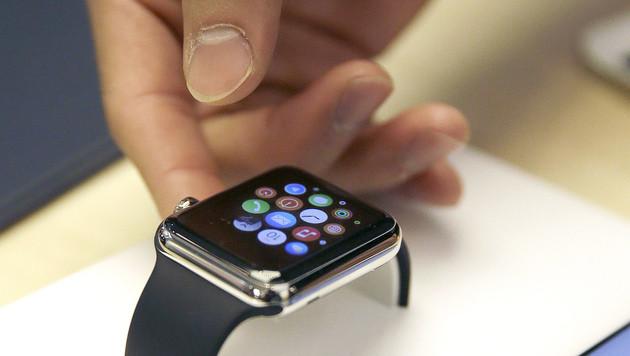 Apple Watch startet ungewöhnlich leise (Bild: AP)