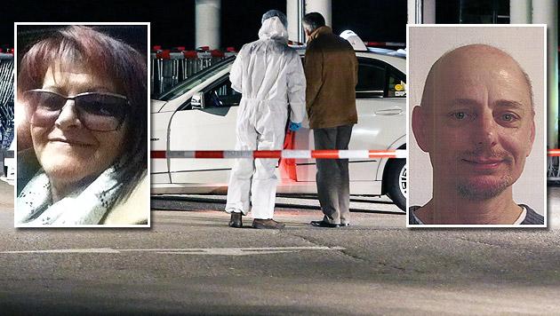 Erwin Kralj (re.) soll die Taxifahrerin Ingrid V. (li.) ermordet haben. (Bild: Polizei, APA/MATTHIAS LAUBER)