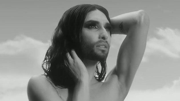 Conchita Wurst in ihrem neuen Video (Bild: YouTube.com)