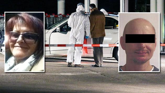 Erwin K. (re.) soll die Taxifahrerin Ingrid V. (li.) ermordet haben. (Bild: Polizei, APA/MATTHIAS LAUBER)