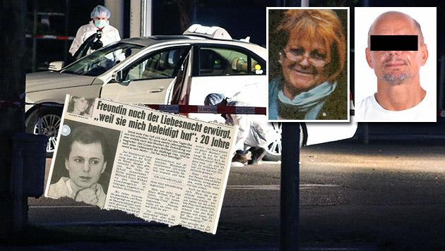 """Taxlerin getötet: Täter saß 20 Jahre wegen Mordes (Bild: APA Matthias Lauber, Werner Kerschbaummayr, Polizei, """"Krone"""")"""