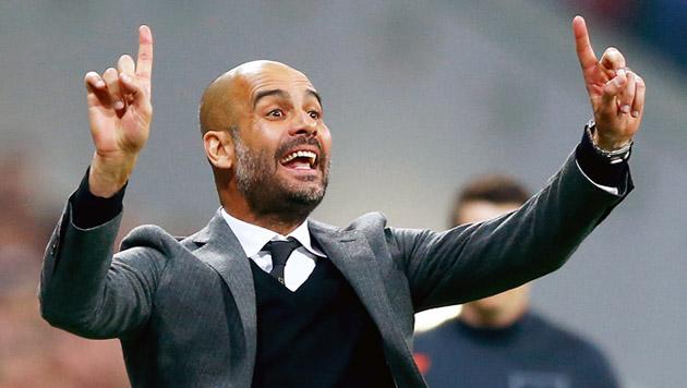 Guardiola wechselt im Sommer zu Manchester City (Bild: AP)