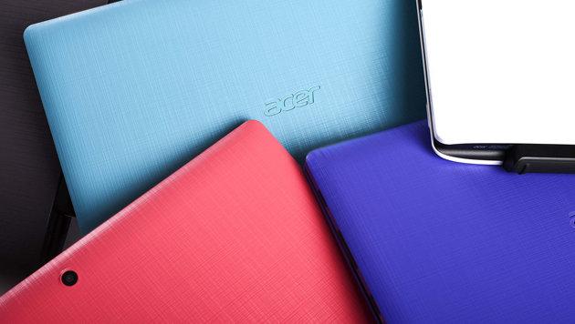 Acer enthüllte viele neue Laptops und Convertibles (Bild: Acer)