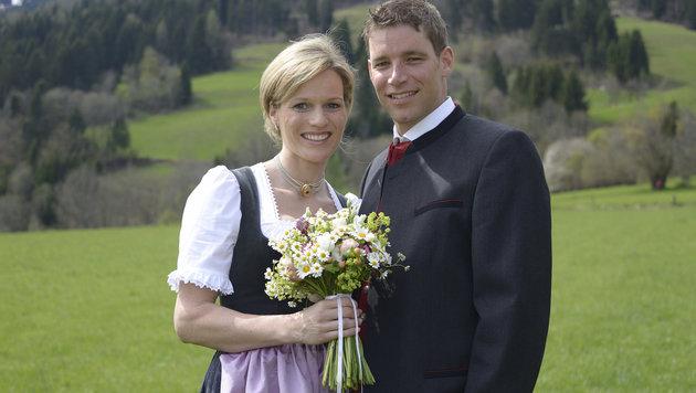 Benni Raich: Als Ehemann nur noch Riesentorläufer (Bild: APA/PRIVAT/UNBEKANNT)