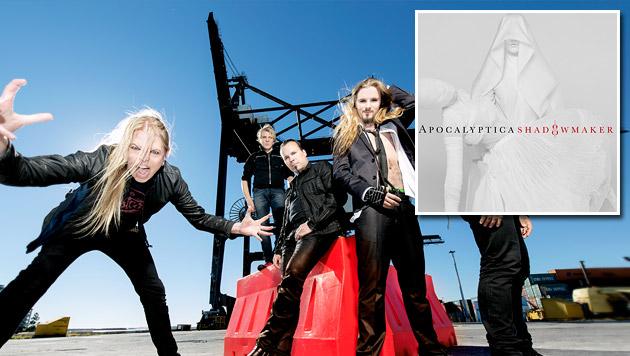 """Apocalyptica: """"Gesichtslose Macht ist leider real"""" (Bild: Harmageddon Records)"""