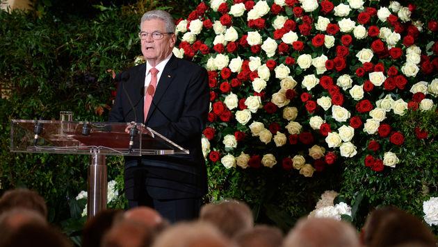 Deutschlands Bundespräsident Joachim Gauck (Bild: APA/ROLAND SCHLAGER)