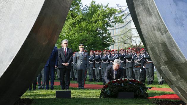 Festakt zum 70-Jahr-Jubiläum der Zweiten Republik (Bild: APA/ANDY WENZEL)