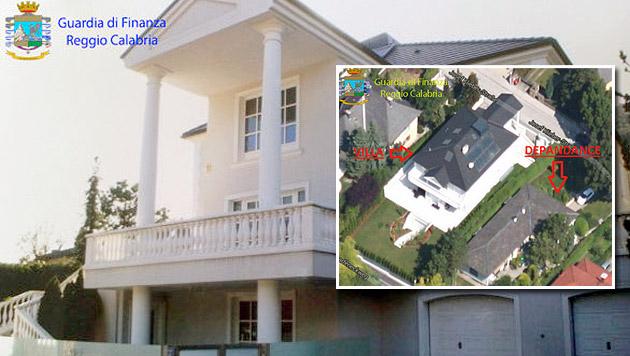 Justiz beschlagnahmt Mafia-Luxusvilla in Baden (Bild: Guardia di Finanza Reggio Calabria)