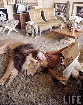 Zusammenleben mit Löwen (Bild: Time Magazine)