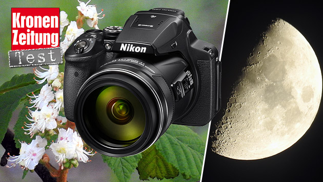 Nikon Coolpix P900: Das Super-Zoom-Wunder im Test (Bild: Nikon, Sebastian Räuchle)
