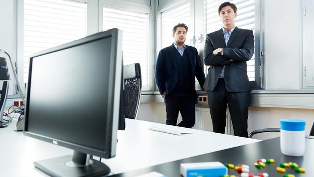 Lukas Zinnagl und Marco Vitula von Diagnosia (Bild: Michael Rausch-Schott)
