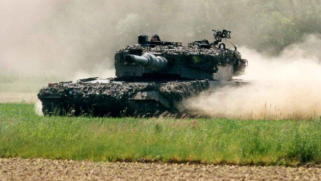 """Sicherheitsrisiko bei """"Leopard 2""""-Panzern (Bild: Bundesheer)"""