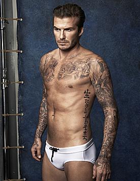 David Beckham macht mit seinen H&M-Kampagnen Frauen glücklich. (Bild: Viennareport)
