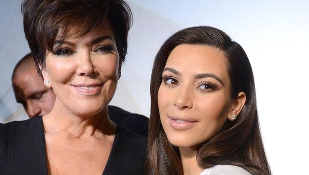 Kris Jenner begleitete Tochter Kim Kardashian 2014 in die Wiener Lugner City und zum Opernball. (Bild: HELMUT FOHRINGER)