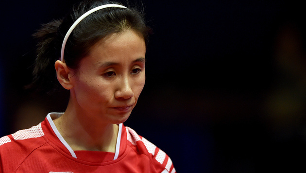 """Liu Jia enttäuscht: """"Habe mich zu sicher gefühlt"""" (Bild: GEPA)"""