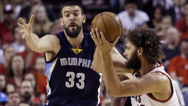 Memphis Grizzlies vergeben ihren 1. Matchball (Bild: AP)