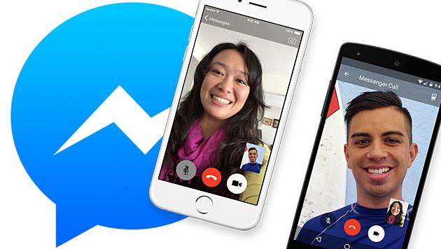 Messenger ermöglicht jetzt auch Videotelefonate (Bild: Facebook)