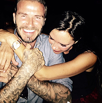 Seit 1999 sind David und Victoria Beckham verheiratet. (Bild: Viennareport)