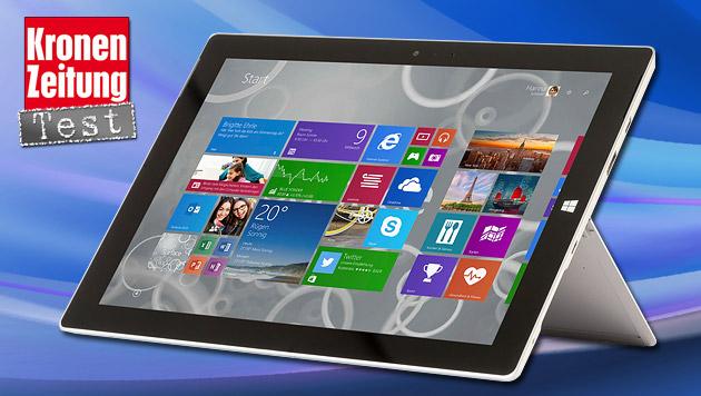 Surface 3: Microsofts neues Arbeitsgerät im Test (Bild: thinkstockphotos.de, Microsoft)