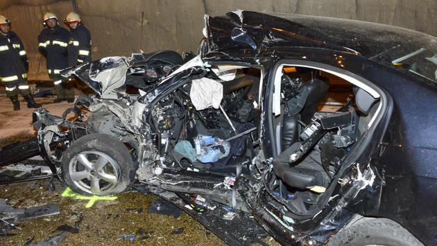Autolenker stirbt bei Frontalkollision in Tunnel (Bild: APA/JACK HAIJES)