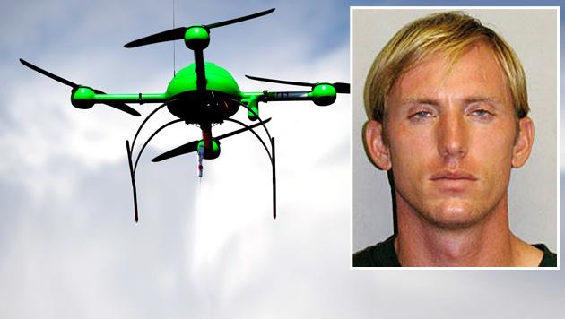 Drohnenpilot in Nationalpark mit Taser gestoppt (Bild: dpa-Zentralbild/Britta Pedersen, AP, krone.at-Grafik)