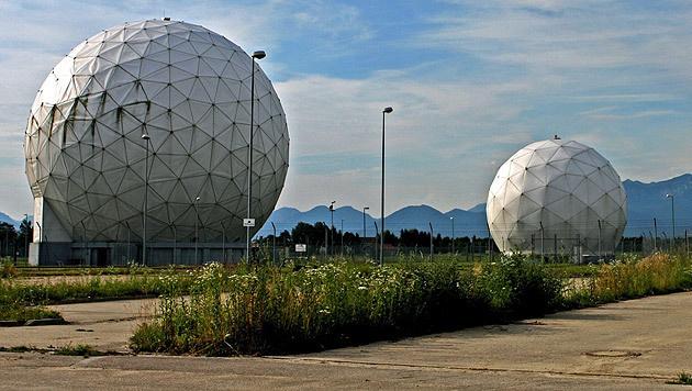 Die Abhöranlage des BND in Bad Aibling, Bayern (Bild: APA/EPA/DIETHER ENDLICHER)