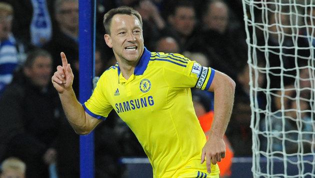 John Terry verlässt Chelsea mit Saisonende! (Bild: AP)