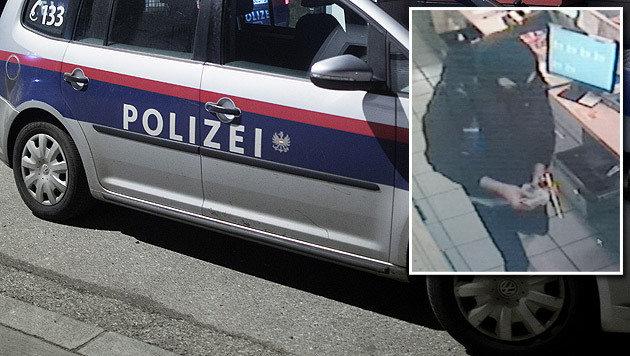 Mit einer goldenen Pistole bewaffnet suchte der Unbekannte am Mittwoch eine Linzer Tankstelle heim. (Bild: APA/GEORG HOCHMUTH (Symbolbild), Polizei)