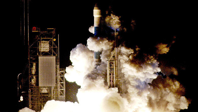 "Der Start von ""Messenger"" am 3. August 2004 in Cape Canaveral (Bild: EPA/Bruce Weaver/picturedesk.com (Archiv))"